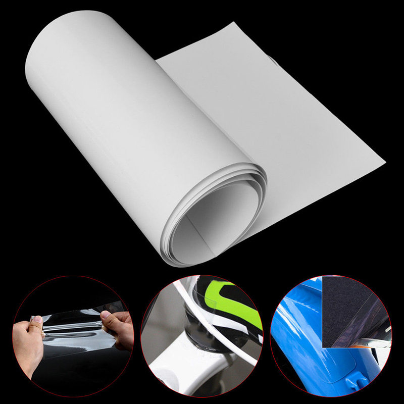 15x100cm Helicopter Bike Bicycle PVC Frame Clear Protection Tape Protective Film