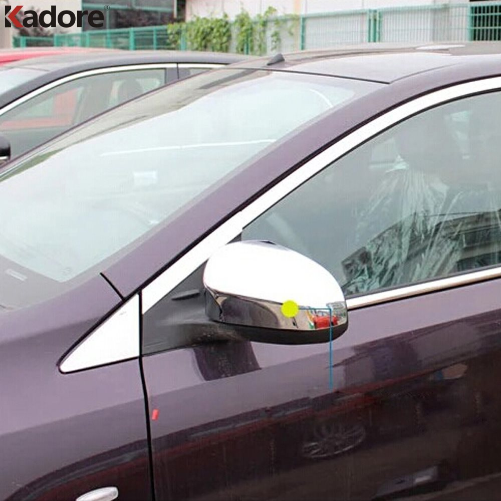 TOYOTA 2012-2013 YARIS outside door mirror cover trim chrome