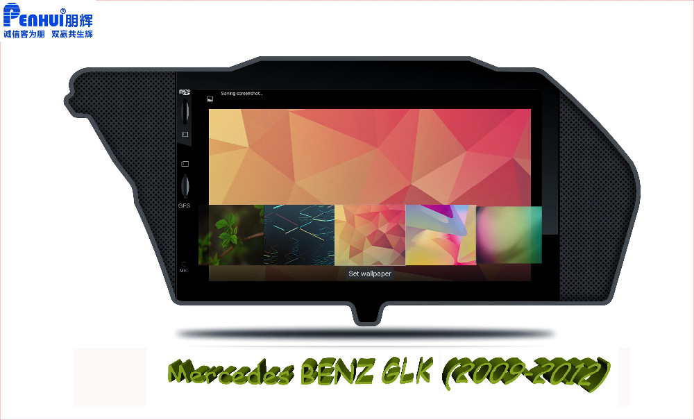 Benz GLK live wall paper-2