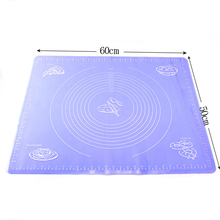 AMW 60*50 CM Extra Large Mat Silicone Bakeware Kitchen Accessories Silicone Mat Baking Pastry Tools Silicone Pastry Mat Pad