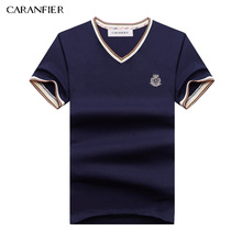 CARANFIER 2017 Summer Men Polo Shirt Leisure Business Boss Breathable Anti-pilling Cool For Men Designer Cotton Golftennis(China)