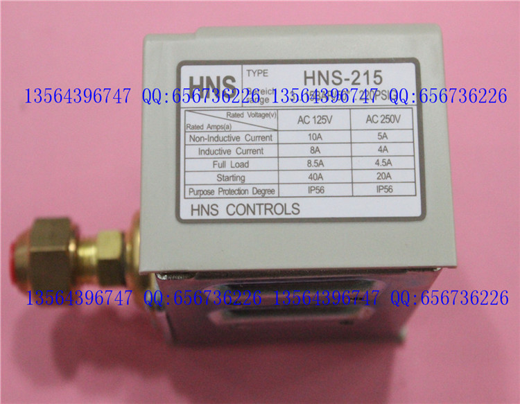 3s pressure switch single electro controller HNS-215<br>