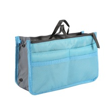 Cosmetic Container Storage Bag Make Up Organizer Holder Multifunction Zipper Portable Travel Storage Bag