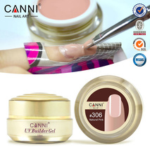 1PC 15ml CANNI Natural Nude Pastel Color UV Builder Gel Camouflage UV Gel Acrylic for Nail Art False Tips Extension 15 Colors