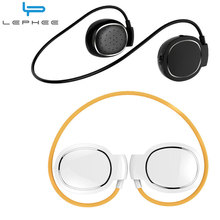 LEPHEE Mini Level Bluetooth Earphones Sport Wireless Headset Touch Control With Microphone Earbuds Waterproof Neckband Headphone