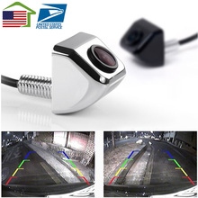 New Waterproof CCD Universal HD Car Rear view BackUp Reverse Parking Camera Front Side View Camera Black White Silver(China)