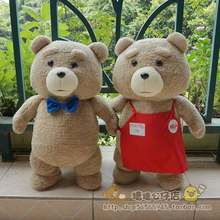 ted movie ted plush 45cm, ted plush bear, teddy bear giant teddy bear plush giant stuffed bear ted(China)