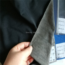 black color silver fiber touch screen fabric for gloves(China)