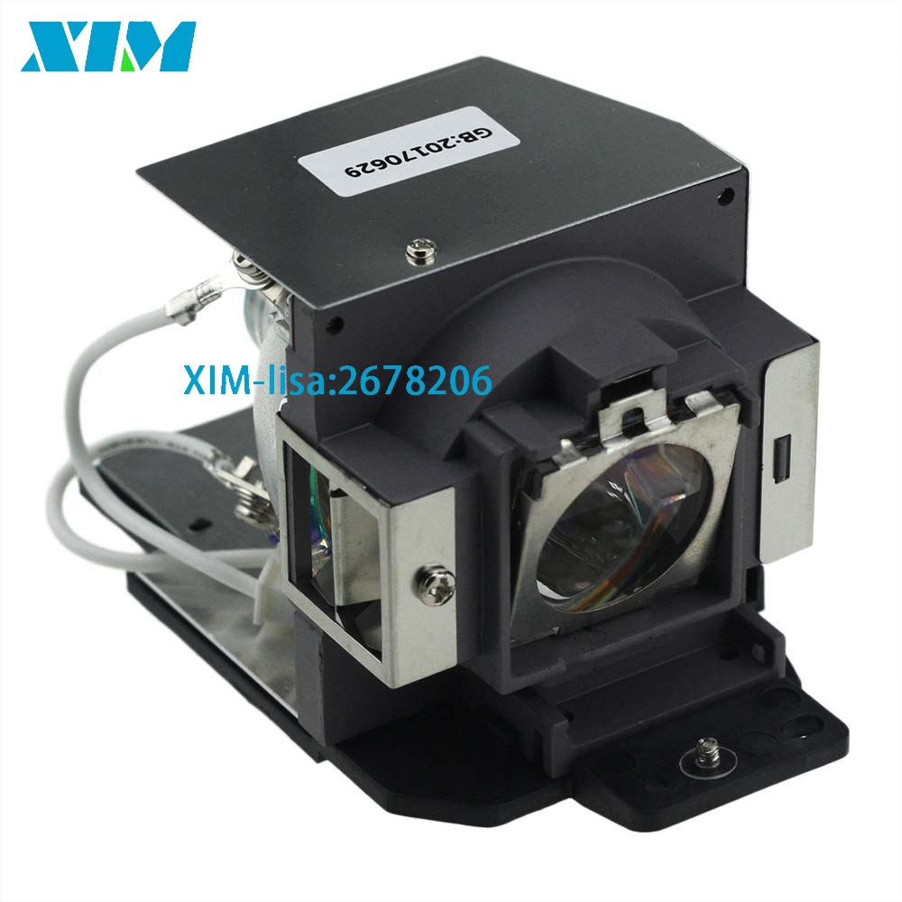High Quality 5J.J6N05.001 Replacement Projector lamp with housing for BENQ MX722  with 180days Warranty<br>