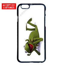 Kermit The Frog Cover Case for LG iPhone 4 4S 5 5S SE 5C 6 6S 7 Plus iPod 5 Samsung S3 S4 S5 Mini S6 S7 S8 Edge Plus Note 3 4 5