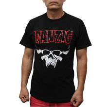 Danzig Heavy Metal Band T-Shirt Red Logo T Shirt Men Funny T Shirts Short Sleeve Hot 2017 Fashion Men Summer Style
