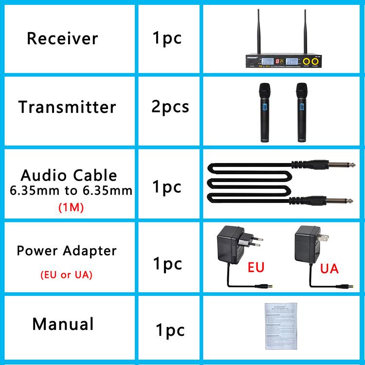 FB-U09 41  Wireless Microphones