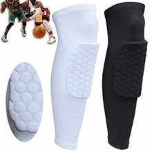 Basketball Knee Pads Brace Calf Support Ski Snowboard Leg Sleeve Kneepad Sport Safety Protector Gear Crashproof Football Adult(China)