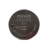 20pcs/lot  Maxell CR2025 Lithium Coin Battery 2025 3V Remote Car Keys Button Battery