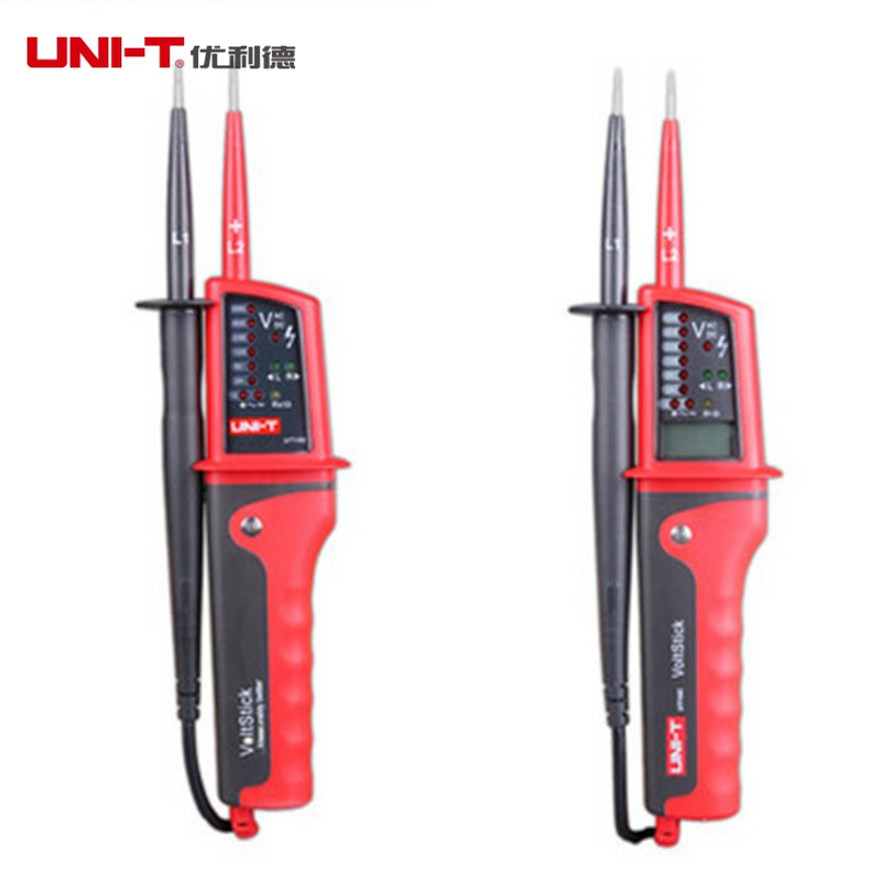 UNI-T UT15B Multi-function Voltage Detectors Waterproof Volt Testers Pen LED AC/DC Voltage Indication<br><br>Aliexpress