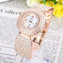 Brand Women Bangle Watches Bling Full Diamond Ladies Hodinky Sky Stars Bayan Saats Chain Clocks Luxury Alloy Band Business Rejor