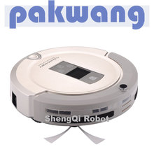 2017 NEW design robotic vacuum cleaner,super mini bagless corldless household portable robotic vacuum cleaner motor