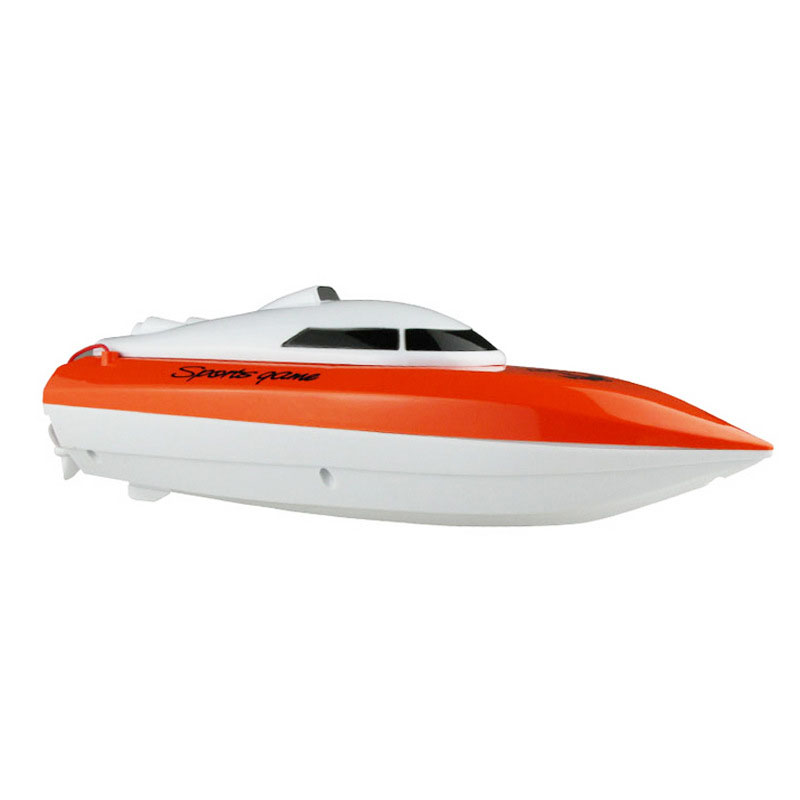 High speed Racing Boat RC Mini Super Model Motor Control Toys Orange