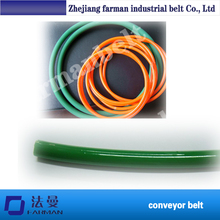 80a Pu Rubber Smooth/rough Surface Round Conveyor Belt(China)