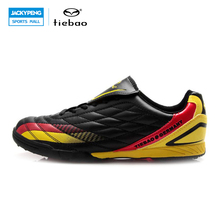 TIEBAO Professional Outdoor Football Boots Athletic Training Soccer Shoes Men Women TF Turf Rubber Sole Shoes fussball schuhe