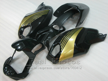 High quality plastic fairing kit for Ducati fairings monster 969 black gold injection mold fairing set monster 969 HR71(China)