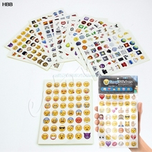 Cute Emoji Sticker Pack 912 Die Cut Stickers  #T026#