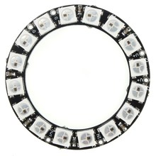 Excellent Quality LED Ring 16x WS2812B 5050 RGB With Integrated Drivers