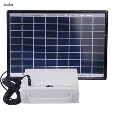 Solar energy small lighting system domestic lighting power generation system kit emergency lighting for camping boat yacht