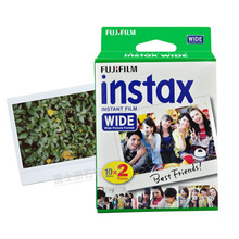 Brand New Fujifilm Instax Wide Film Plain Edge Twin Packs (20 Photos) for Instant Photo Camera Instax 200 210