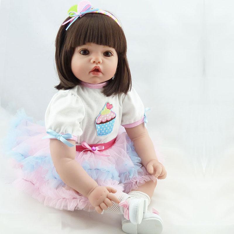 20inch DIY Model Toy Soft Silicone Reborn Baby Doll Toys Doll Reborn Babies Toys Newborn Baby Lifelike Doll Toys Brinquedos <br><br>Aliexpress