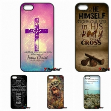 Love Bible Jesus Christ Christian Cross Phone Case For Huawei Ascend P6 P7 P8 P9 P10 Lite Plus 2017 Honor 5C 6 4X 5X Mate 8 7 9