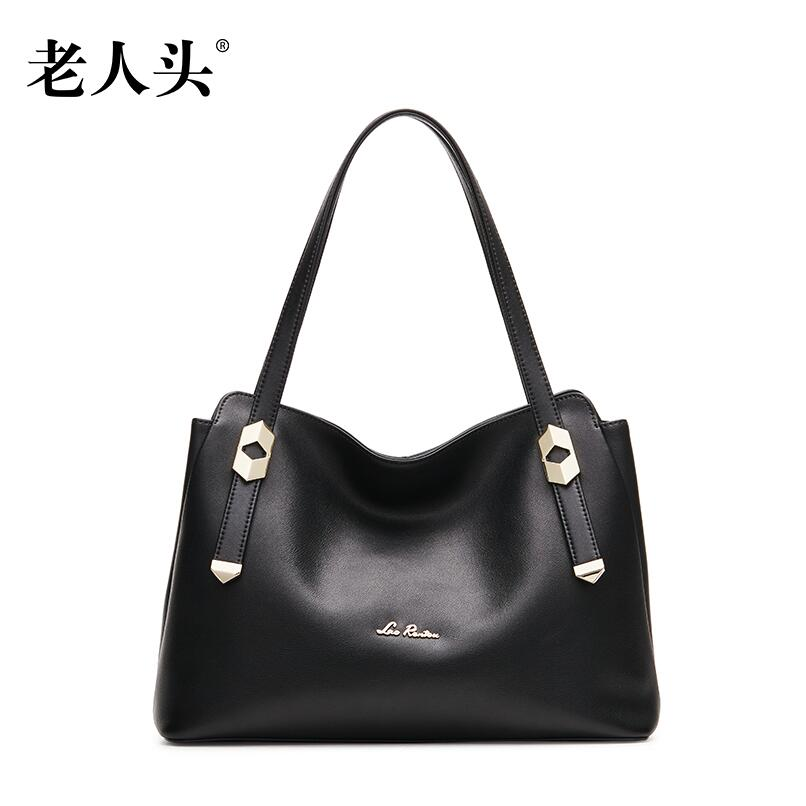 Women bag 2016 quality genuine leather bag famous brands fashion women handbags shoulder bag simple large capacity commuter bag<br><br>Aliexpress