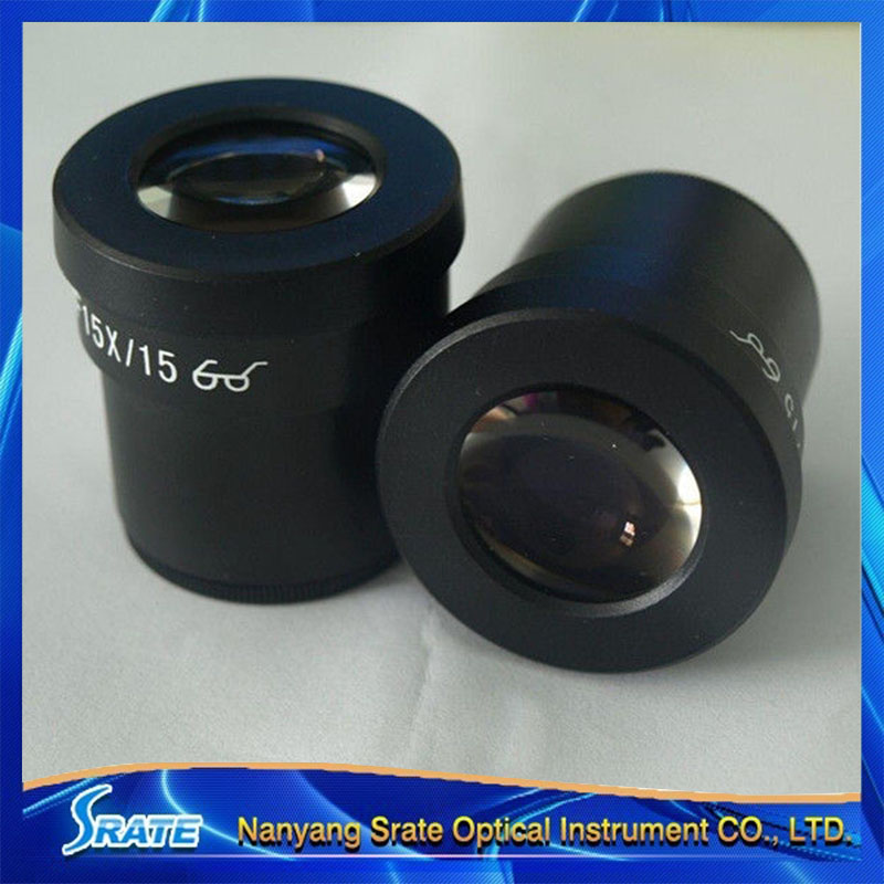 2PCS 30mm Interface 15X Wide Angle Stereo Microscope Eyepiece<br><br>Aliexpress