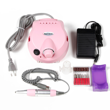 30000 RPM Electric Nail Drill Machine Manicure Apparatus 15W Acrylic Nail Drill File Grinding Drill Bits Pedicure Nail Tools(China)