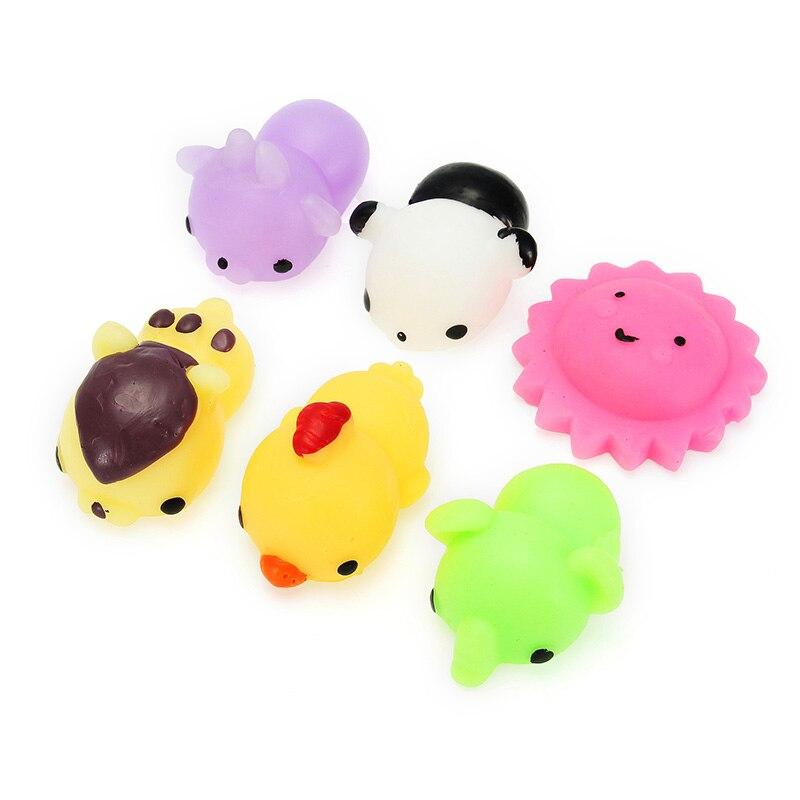 New 16 Pcs Mini Cute Mochi Animals 10