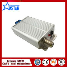 China supplier 1310nm catv optical transmitter 6mw(China)