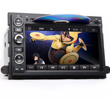 1024*600 Quad Core Android 5.1 Car dvd gps for Ford Fusion Explorer F150 Edge Expedition With Radio 3G WIFI BT USB Mirror link