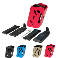 High Quality Airsoft CNC Aluminium IPSC 360 Degrees Rotate Magazine Pouch For Paintball Shooting Pistol Magazine(China)