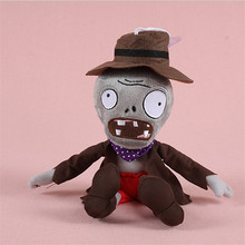 28cm wholesale plush toys zombie kids toys birthday gift  Plants vs Zombies stuffed doll baby toys