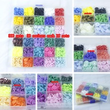 300 SETS/LOT Two box baby snap buttons Diameter 12mm mix color sold KAM T5 clothing accessories(China)