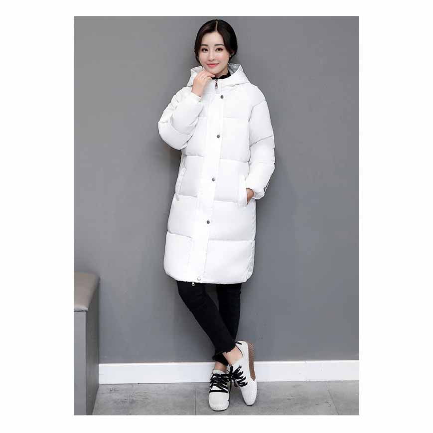 2017 New Winter Jacket Women Hooded Thicken Coat Fashion Warm Outwear Down Cotton-Padded Long Wadded Coat ParkaÎäåæäà è àêñåññóàðû<br><br>