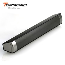 TOPROAD 10W Bluetooth Speaker Sound Bar Wireless Subwoofer Soundbar Receiver Stereo Super Bass Loudspeaker For iphone TV Phone(China)