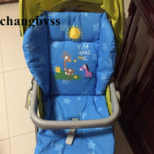 2016 New Arrival Baby Car Pad Thick Stroller Mat,Breathable Seat Cushion Cotton General Cotton Thick Mattress,Drop Shipping
