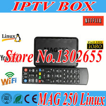 Freesat Mag250 IPTV Set Top Box MAG 250 IPTV BOX HD satellite receiver youtube europe channels