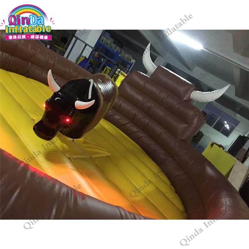 inflatable mechnical bull mat64