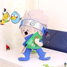 "Japanese Anime Cartoon Naruto Hatake Kakashi Plush Toys Doll 12"" Naruto Soft Stuffed Plush Toys for Kids Gifts Free Shipping(China)"