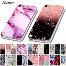 Biencaso Marble Soft TPU Phone Cases For iPhone 7 Plus 4 4S 5 5S 5c SE 6 6s iPod touch 5 6 Cover Skin Shell Fundas Coque B02