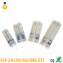 G9 led corn lamp AC220V 3014 3W 7W 9W 10W 12W 2835LED Crystal Silicone Candle Replace 20-40W halogen lamps Christmas light bulb(China)