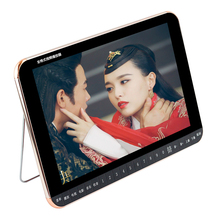 Portable DVD Player Digital Multimedia Player Support U Drive Play & Card Reader FM radio/TV/Speaker 25 inch HD Big screen MP3(China)