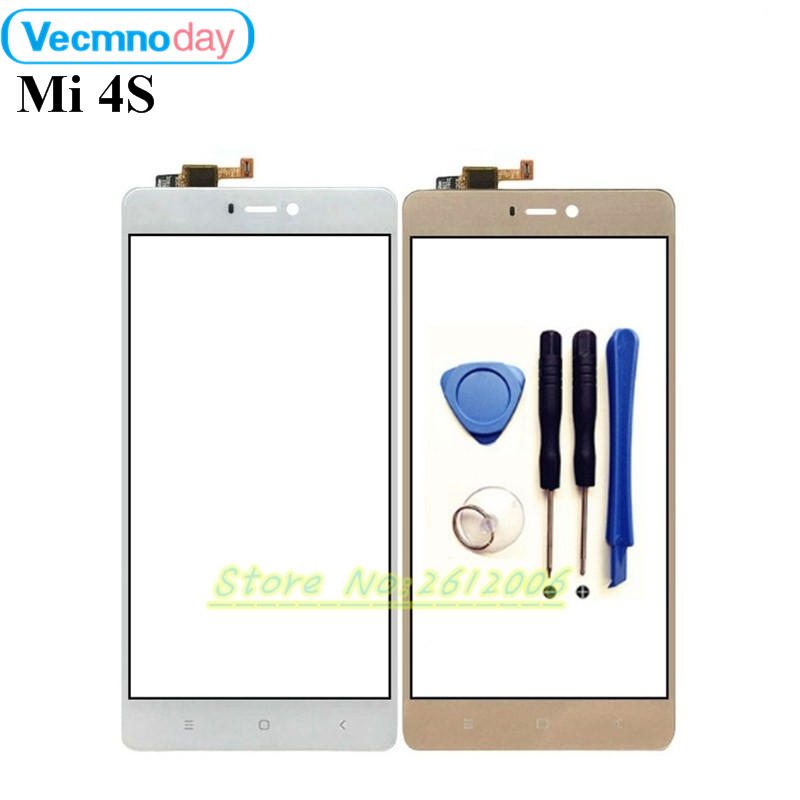 Vecmnoday 5.0 inch For XiaoMi Mi 4S Mi4s Touch Screen Digitizer Sensor Replacement Original Touch Panel Perfect Repair Parts